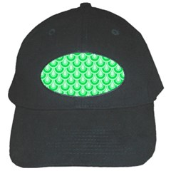 Awesome Retro Pattern Green Black Cap by ImpressiveMoments