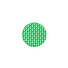 Awesome Retro Pattern Green 1  Mini Buttons by ImpressiveMoments