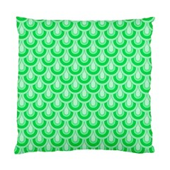 Awesome Retro Pattern Green Standard Cushion Cases (two Sides)  by ImpressiveMoments