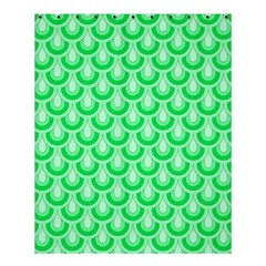 Awesome Retro Pattern Green Shower Curtain 60  X 72  (medium)  by ImpressiveMoments