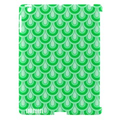 Awesome Retro Pattern Green Apple Ipad 3/4 Hardshell Case (compatible With Smart Cover) by ImpressiveMoments
