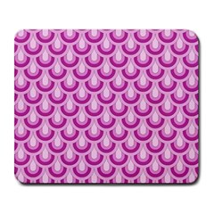 Awesome Retro Pattern Lilac Large Mousepads by ImpressiveMoments
