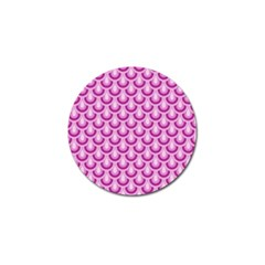 Awesome Retro Pattern Lilac Golf Ball Marker (10 Pack) by ImpressiveMoments