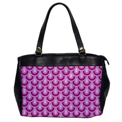 Awesome Retro Pattern Lilac Office Handbags by ImpressiveMoments
