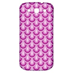 Awesome Retro Pattern Lilac Samsung Galaxy S3 S Iii Classic Hardshell Back Case by ImpressiveMoments