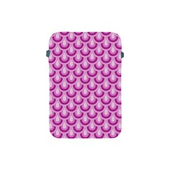 Awesome Retro Pattern Lilac Apple Ipad Mini Protective Soft Cases by ImpressiveMoments