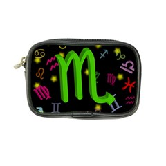 Scorpio Floating Zodiac Sign Coin Purse by theimagezone