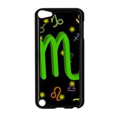 Scorpio Floating Zodiac Sign Apple Ipod Touch 5 Case (black) by theimagezone