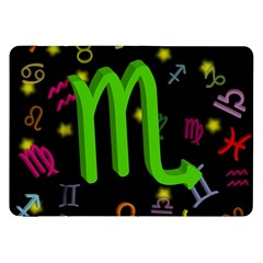 Scorpio Floating Zodiac Sign Samsung Galaxy Tab 8 9  P7300 Flip Case by theimagezone