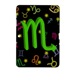 Scorpio Floating Zodiac Sign Samsung Galaxy Tab 2 (10 1 ) P5100 Hardshell Case  by theimagezone