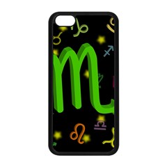 Scorpio Floating Zodiac Sign Apple Iphone 5c Seamless Case (black) by theimagezone