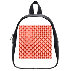 Awesome Retro Pattern Red School Bags (small)  by ImpressiveMoments