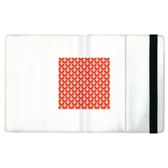 Awesome Retro Pattern Red Apple Ipad 3/4 Flip Case by ImpressiveMoments