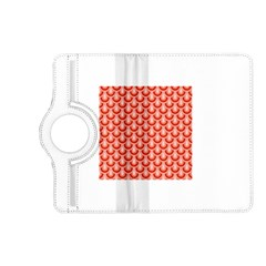 Awesome Retro Pattern Red Kindle Fire Hd (2013) Flip 360 Case by ImpressiveMoments