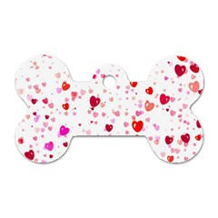 Heart 2014 0601 Dog Tag Bone (one Side) by JAMFoto