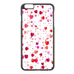 Heart 2014 0601 Apple Iphone 6 Plus Black Enamel Case