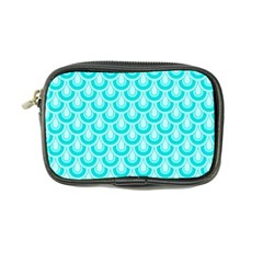 Awesome Retro Pattern Turquoise Coin Purse by ImpressiveMoments