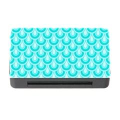 Awesome Retro Pattern Turquoise Memory Card Reader With Cf by ImpressiveMoments