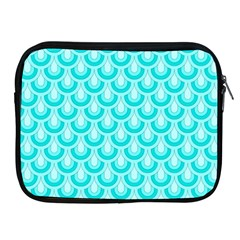 Awesome Retro Pattern Turquoise Apple Ipad 2/3/4 Zipper Cases