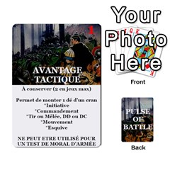 Queen Pulse Of Battle Romain By Antoine Bourguilleau   Playing Cards 54 Designs   Mx3a2h7877b0   Www Artscow Com Front - SpadeQ