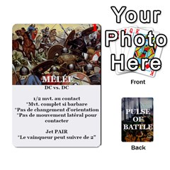 Pulse Of Battle Romain By Antoine Bourguilleau   Playing Cards 54 Designs   Mx3a2h7877b0   Www Artscow Com Front - Heart7