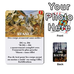 Pulse Of Battle Romain By Antoine Bourguilleau   Playing Cards 54 Designs   Mx3a2h7877b0   Www Artscow Com Front - Diamond3