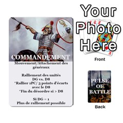 Pulse Of Battle Romain By Antoine Bourguilleau   Playing Cards 54 Designs   Mx3a2h7877b0   Www Artscow Com Front - Club2