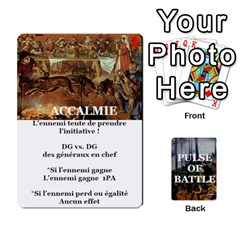Pulse Of Battle Romain By Antoine Bourguilleau   Playing Cards 54 Designs   Mx3a2h7877b0   Www Artscow Com Front - Club8