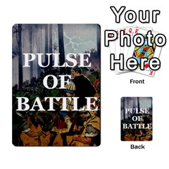 Pulse Of Battle Romain By Antoine Bourguilleau   Playing Cards 54 Designs   Mx3a2h7877b0   Www Artscow Com Back