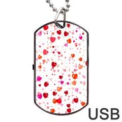 Heart 2014 0602 Dog Tag Usb Flash (two Sides)  by JAMFoto