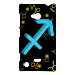 Sagittarius Floating Zodiac Sign Nokia Lumia 720 by theimagezone