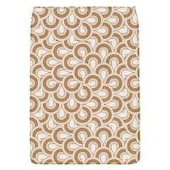 Retro Mirror Pattern Brown Flap Covers (s)  by ImpressiveMoments