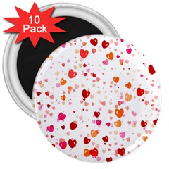 Heart 2014 0603 3  Magnets (10 Pack)  by JAMFoto