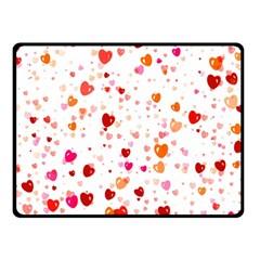 Heart 2014 0603 Double Sided Fleece Blanket (small)  by JAMFoto
