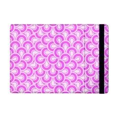 Retro Mirror Pattern Pink Ipad Mini 2 Flip Cases by ImpressiveMoments