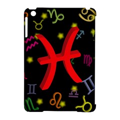 Pisces Floating Zodiac Sign Apple Ipad Mini Hardshell Case (compatible With Smart Cover) by theimagezone