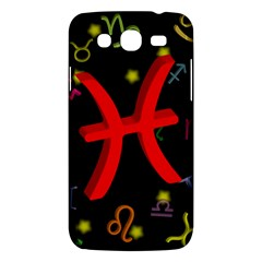 Pisces Floating Zodiac Sign Samsung Galaxy Mega 5 8 I9152 Hardshell Case  by theimagezone