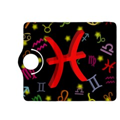 Pisces Floating Zodiac Sign Kindle Fire HDX 8.9  Flip 360 Case by theimagezone