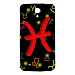 Pisces Floating Zodiac Sign Samsung Galaxy Mega I9200 Hardshell Back Case by theimagezone