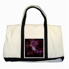Space Like No 1 Two Tone Tote Bag  by timelessartoncanvas