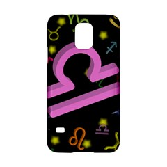 Libra Floating Zodiac Sign Samsung Galaxy S5 Hardshell Case  by theimagezone