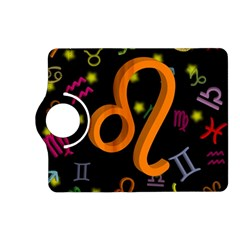 Leo Floating Zodiac Sign Kindle Fire Hd (2013) Flip 360 Case by theimagezone