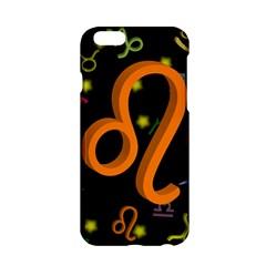 Leo Floating Zodiac Sign Apple Iphone 6/6s Hardshell Case by theimagezone