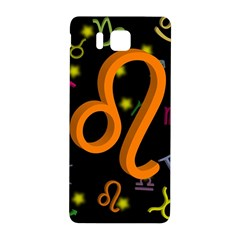 Leo Floating Zodiac Sign Samsung Galaxy Alpha Hardshell Back Case by theimagezone