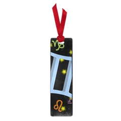 Gemini Floating Zodiac Sign Small Book Marks by theimagezone