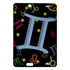 Gemini Floating Zodiac Sign Kindle Fire Hd (2013) Hardshell Case by theimagezone