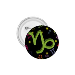 Capricorn Floating Zodiac Sign 1 75  Buttons by theimagezone