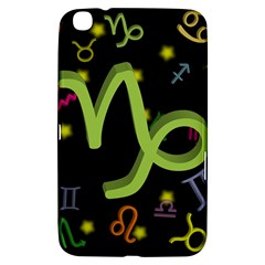 Capricorn Floating Zodiac Sign Samsung Galaxy Tab 3 (8 ) T3100 Hardshell Case  by theimagezone