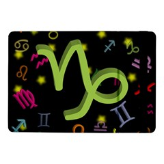 Capricorn Floating Zodiac Sign Samsung Galaxy Tab Pro 10 1  Flip Case by theimagezone