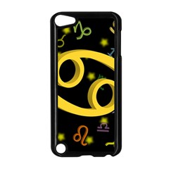 Cancer Floating Zodiac Sign Apple Ipod Touch 5 Case (black) by theimagezone